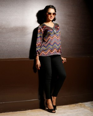 Multi-color long Sleeve tops for women