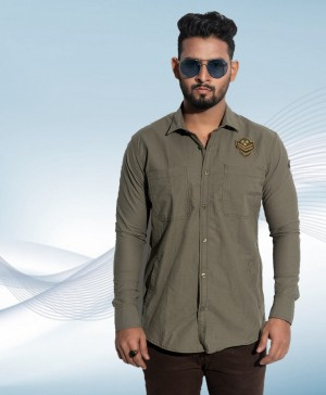 Olive Casual Shirt